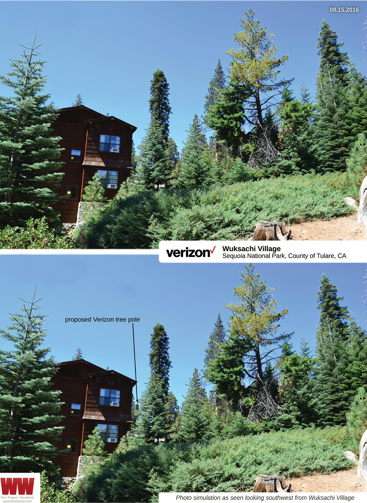 Cell tower approved for Sequoia National Park
