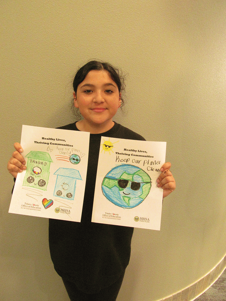County names student art contest winners