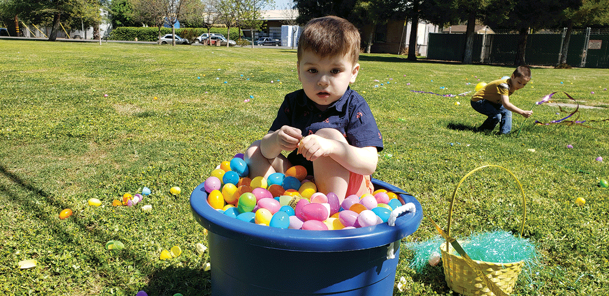 First Free Will Baptist Church holds egg hunt for children with special needs