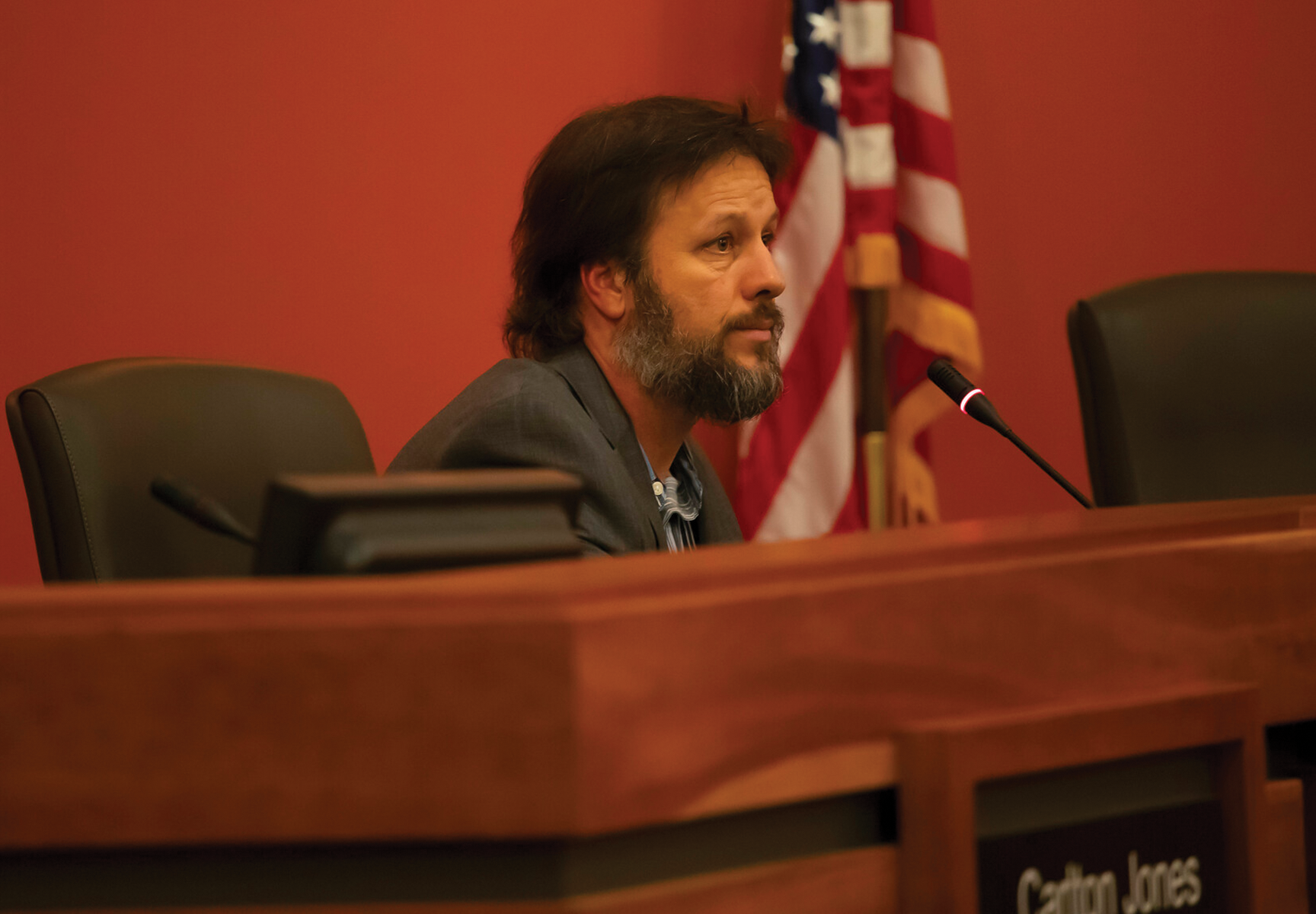Council tempers flare amidst Nunley damage claims, trip to Vegas