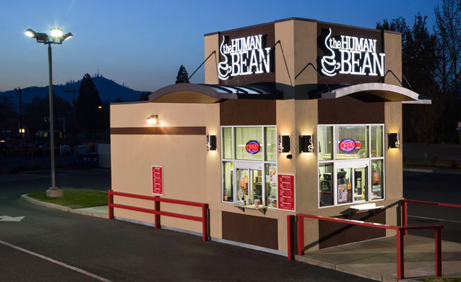 The Human Bean drive-thru coffee shop planned for 1331 W. Caldwell Ave.