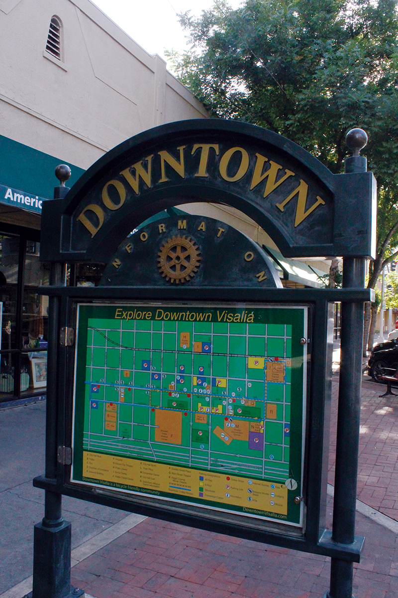 Improve foot traffic in downtown with walkable plan