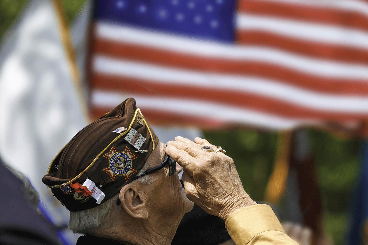 Avenue of Flags still deploying aging veterans