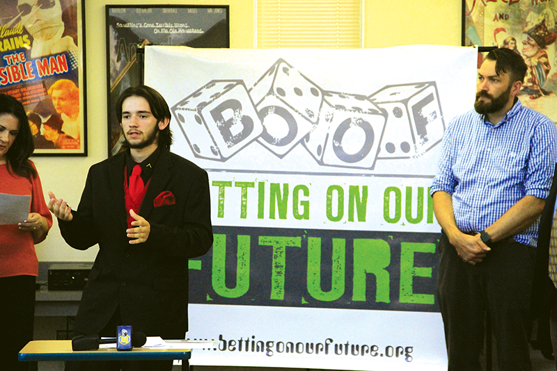 Betting On Our Future program has teens conduct surveys, raise awareness about youth gambling